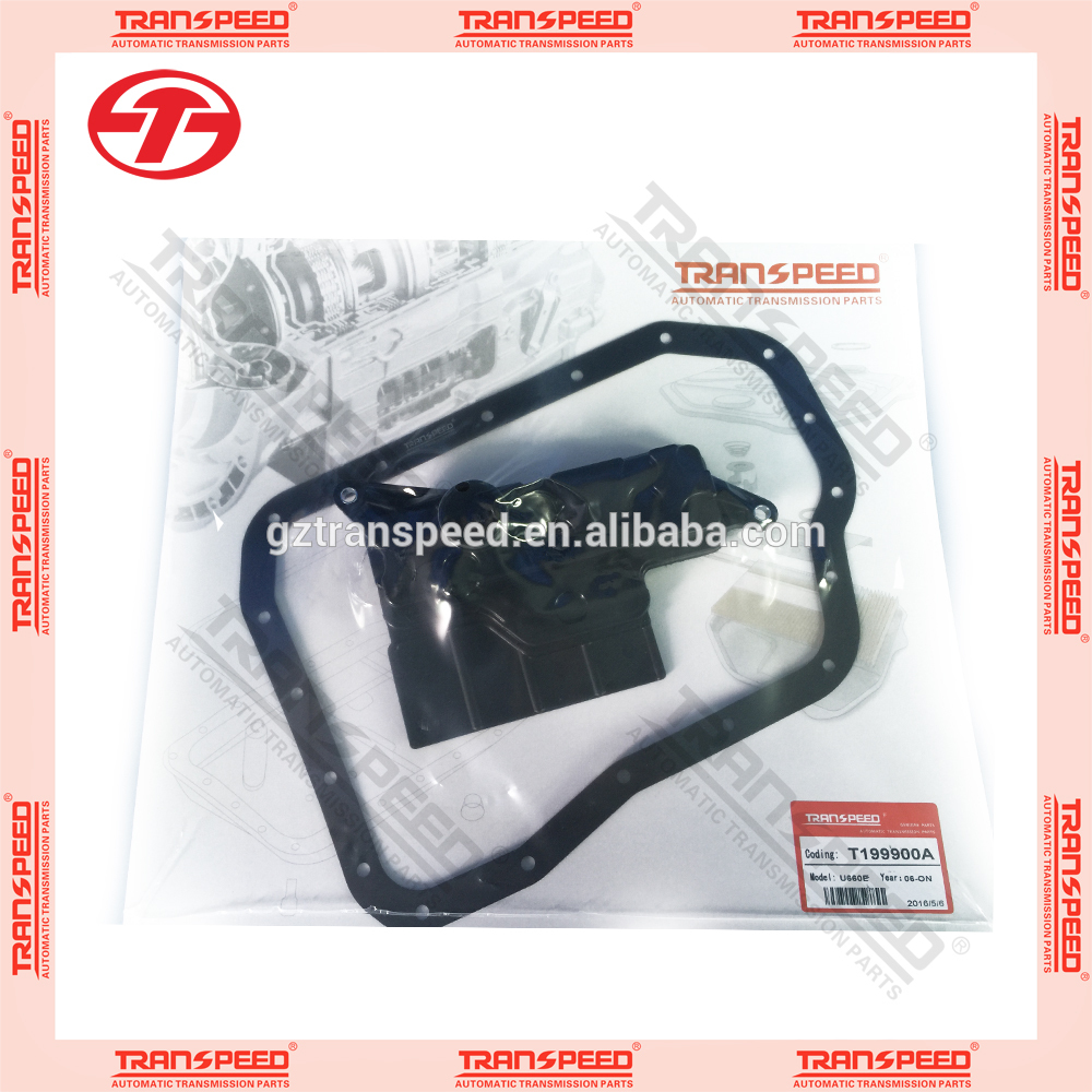NEW Transpeed U660E transmission service kit oil filter gasket kit rubber gasket