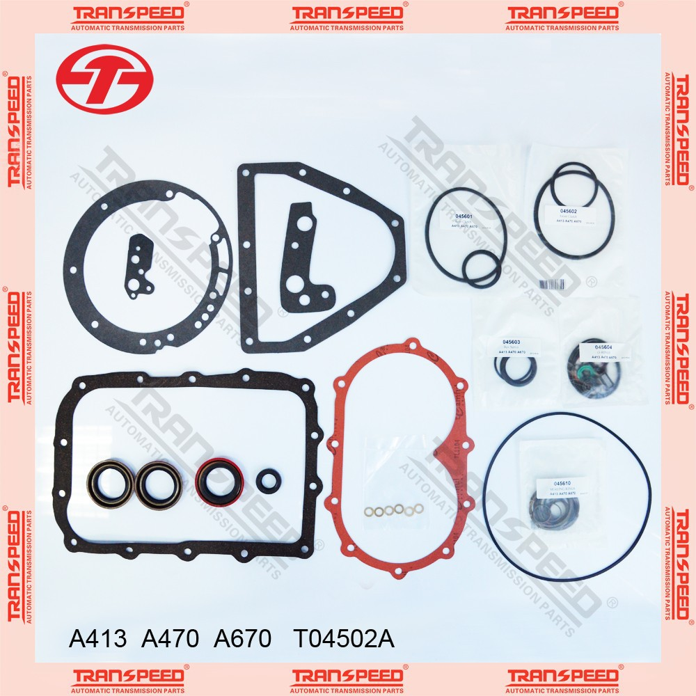 Transmission overhaul Kit gasket kit A413 A470 A670 T04502A seal kit for DODGE