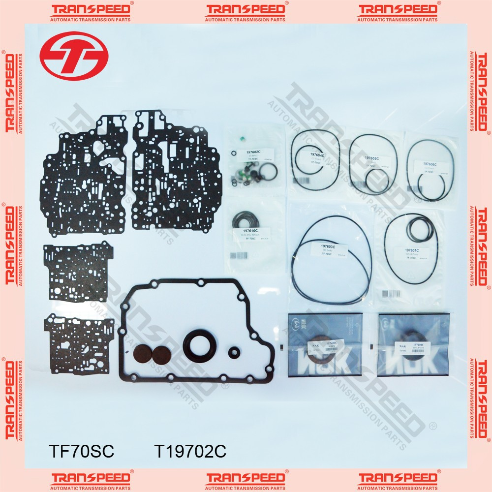 TRANSPEED TF70SC T19702C Automatic transmission overhaul kit gasket kit gear box parts