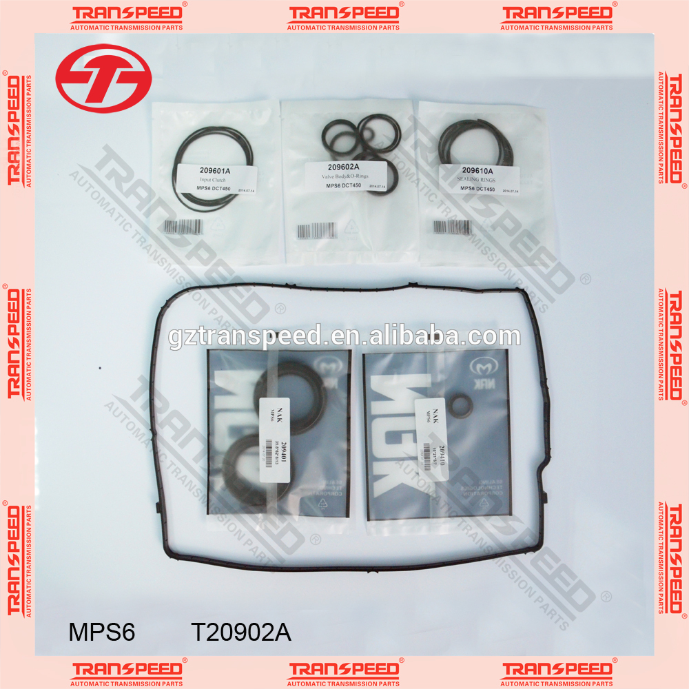 gear box MPS6 Automatic transmission repair kit T20902A Guangzhou transpeed
