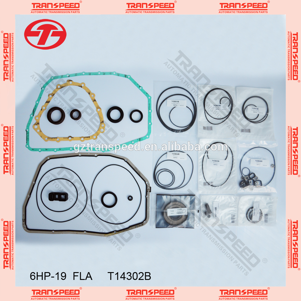 6hp-19/21 auto transmission overhaul kit seal kit T14302b FOR transpeed Featured Image