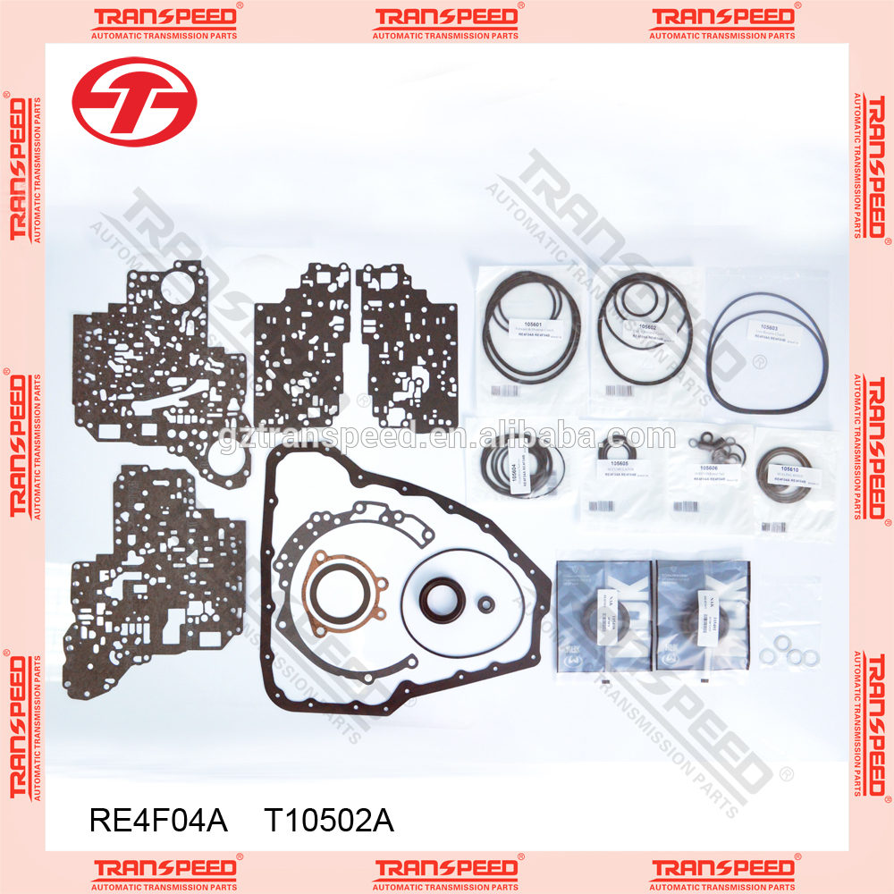 Transpeed RE4F04A automatic transmission repair kit T10502A