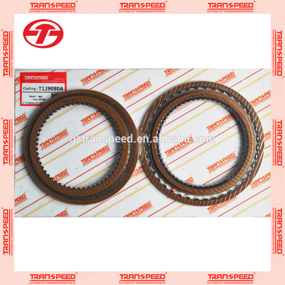 best selling automatic transmission car gear transmission friction disc 09g