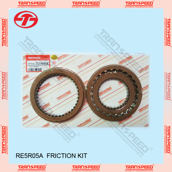 automatic transmission RE5R05A friction kit