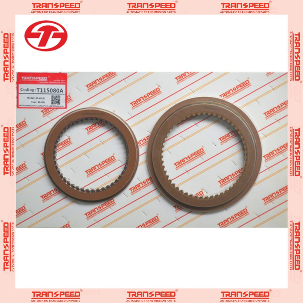 Motor vehicle transmission 60-40LE auto transmission repair master kit T115080A friction kit auto car