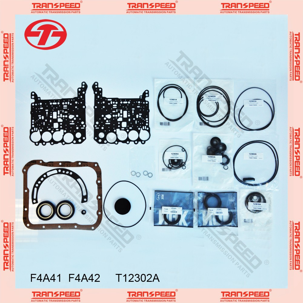 TRANSPEED F4A41 F4A42 T12302A Automatic transmission overhaul kit gasket kit