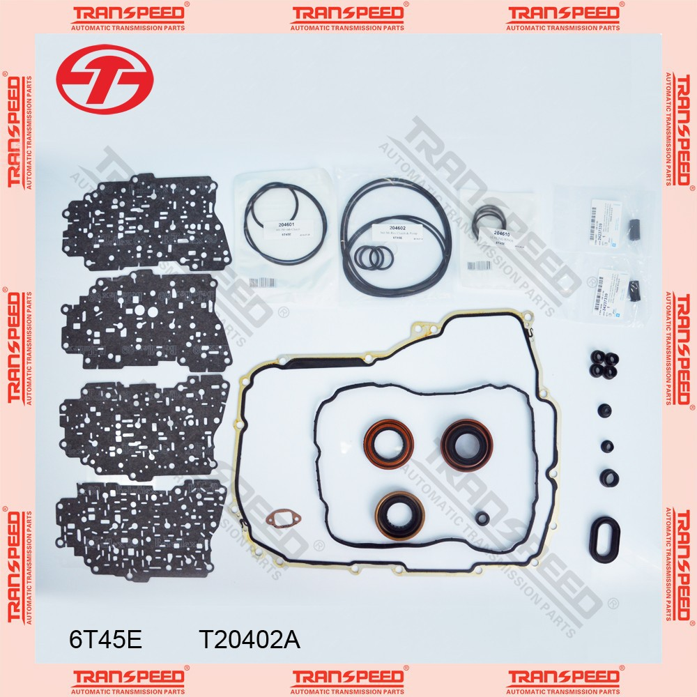 6T45E Automatic transmission overhaul kit gasket kit T20402A TRANSPEED for Buick