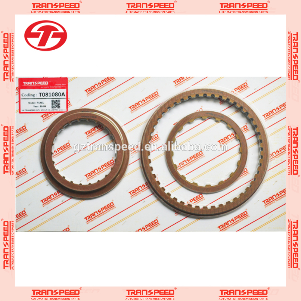 transpeed transmission T081080A F4AEL friction kit.