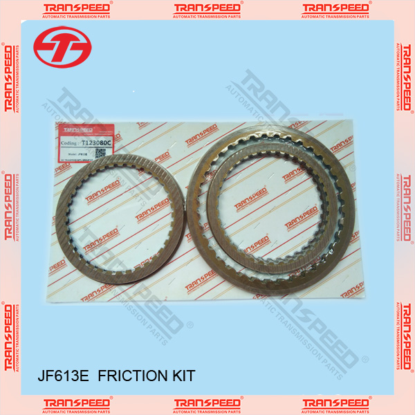 TRANSPEED JF613E/F6AJA T123080C Automatic transmission friction kit clutch disc