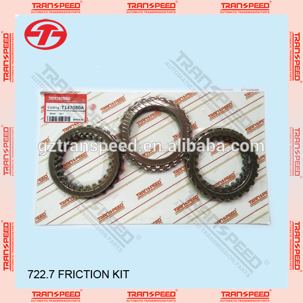 Transpeed 722.7 automatic transmission friction kit for Mercedes Featured Image