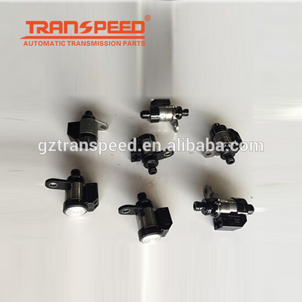 Transpeed RE5R05A transmission solenoid set valve body