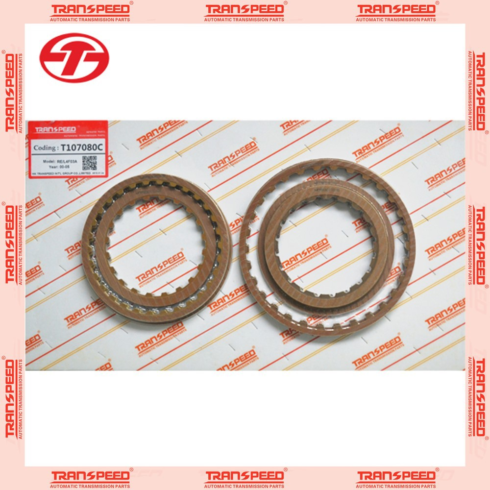 Motor vehicle transmission RE4F03B auto transmission repair master kit T107080C friction kit auto car