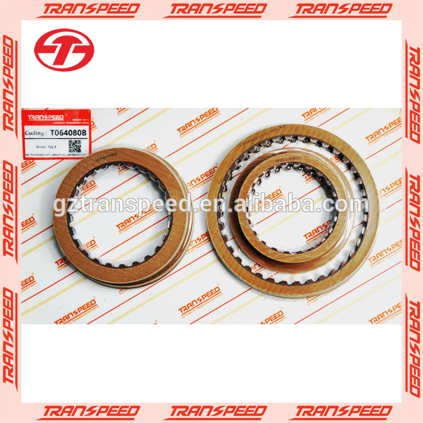 722.5 automatic transmission friction kit for transpeed brand T064080B made in China factory car spare parts Featured Image