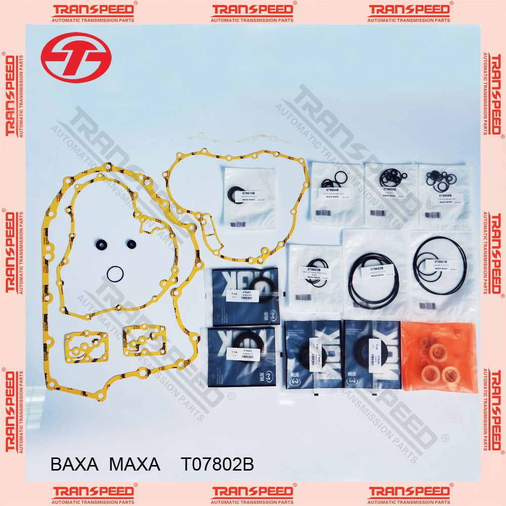 TRANSPEED BAXA MAXA Automatic transmission overhaul kit T07802B gasket kit
