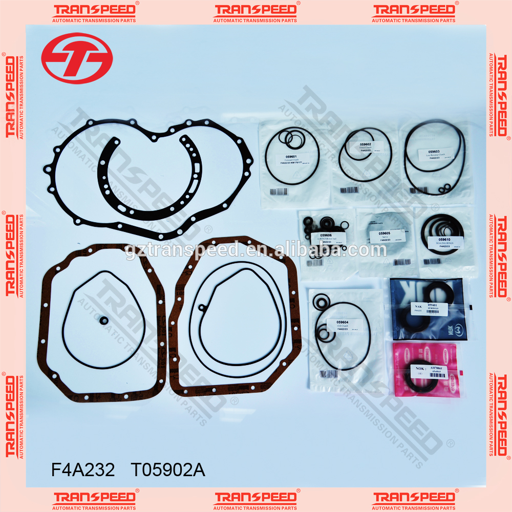 2015 best selling F4A232 automatic transmission parts repair kits parts for overhual kit for T05902A