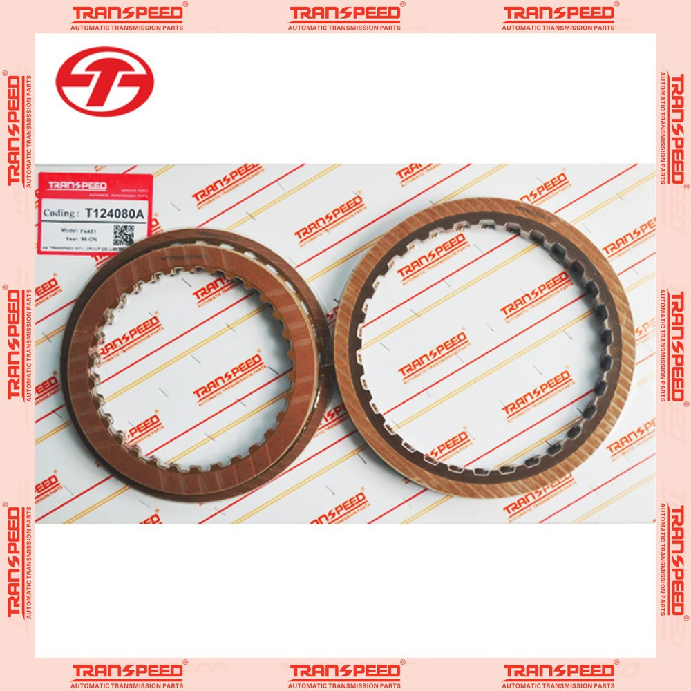 Transpeed hot sale friction kit F4A51 automatic transmission clutch kit fit for MITSUBISHI