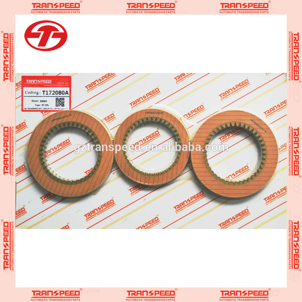 Transpeed Hot sale Auto transmission T172080A friction kit SMMA fit for HONDA.
