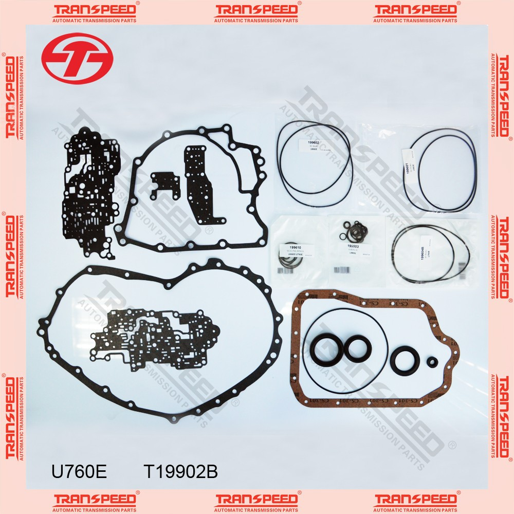 TRANSPEED U760E T19902B Automatic transmission overhaul kit gasket kit