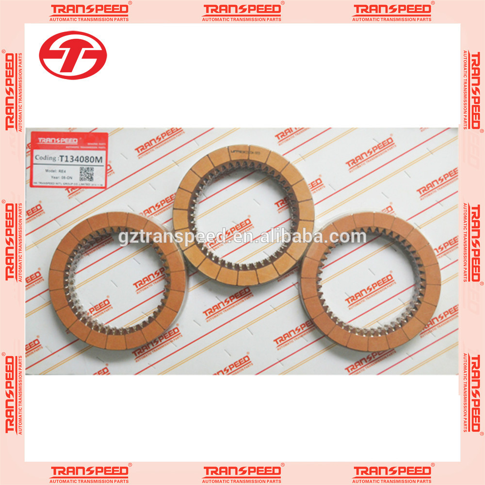 Transpeed MZHA/MZJA/BZHA/RE4 automatic clutch plate transmission friction kit