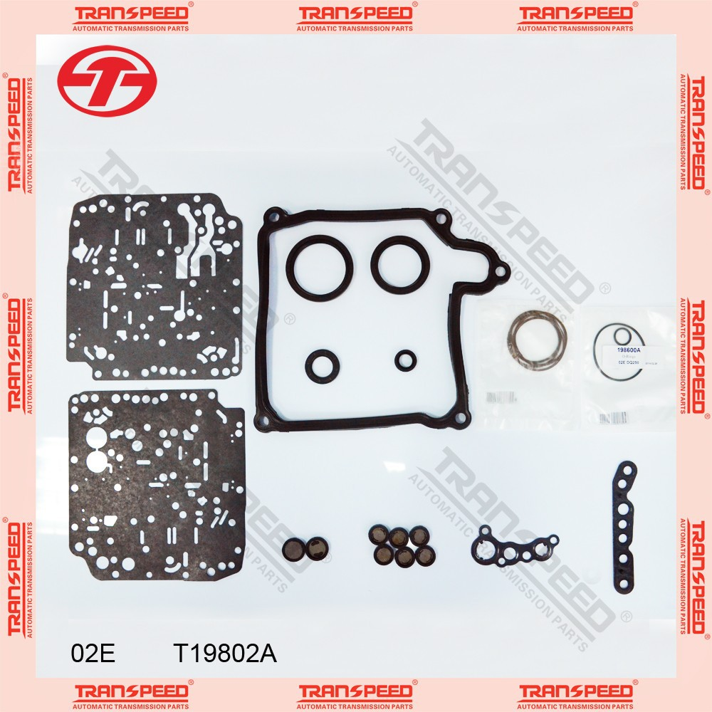 Automatic transmission overhaul kit repair kit gasket kit 02E T19802A TRANSPEED for VW