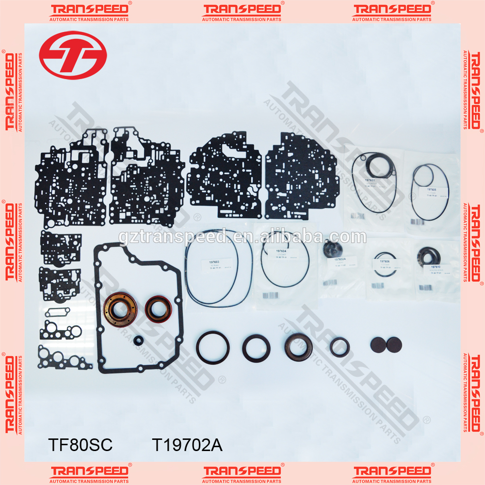Transpeed TF80SC Transmission overhaul kit seals and gasket kit
