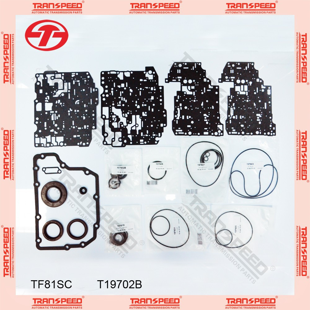 TRANSPEED TF81SC T19702B Automatic transmission overhaul kit gasket kit
