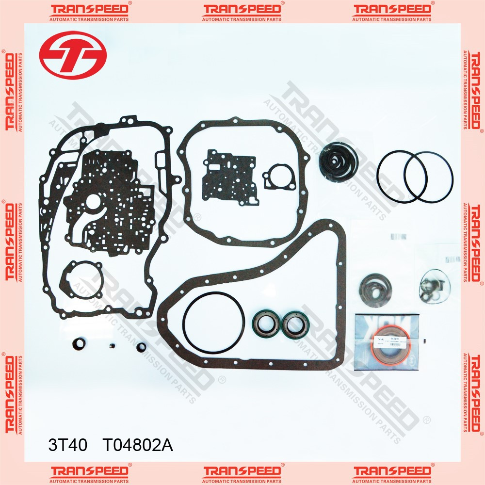 Transpeed Transmission Parts Auto Transmission Overhaul Kit Repair Kit Rebuild Kit for T04802A 3T40 GM CHEVROLET 3.1