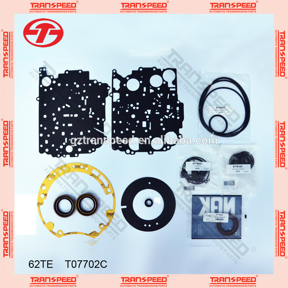 Transpeed Auto transmission 62TE overhaul kit/ repair gasket kit for DODGE
