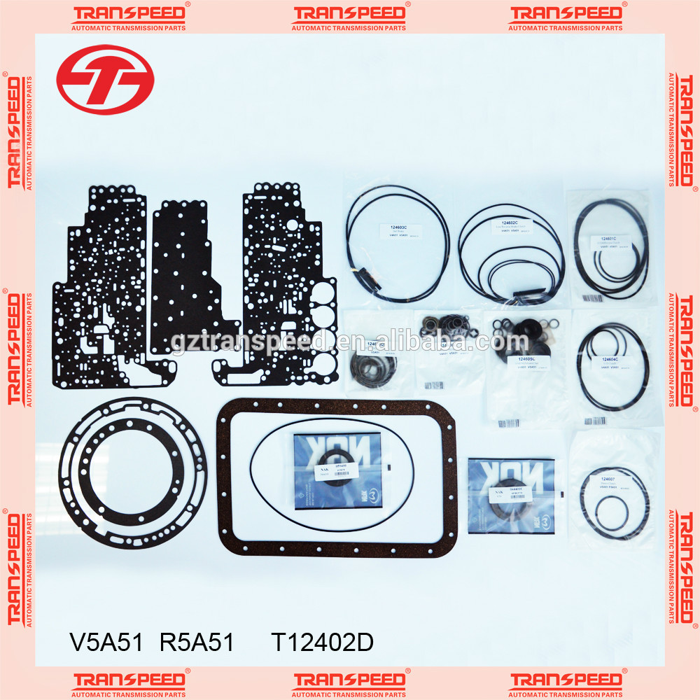 Transpeed Automotiv Automatic transmission gearbox V5A51 overhaul kit/ repair gasket kit for MITSUBISHI