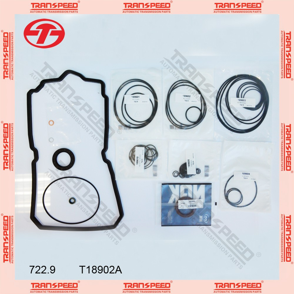 Transpeed 722.9 automatic transmission overhaul kit for Mercedes
