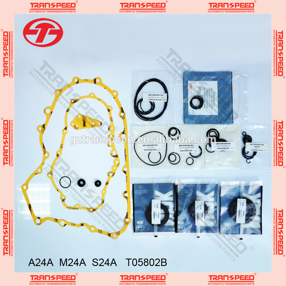 T05802B A24A M24A S24A Transmission overhaul gasket kit for EG8
