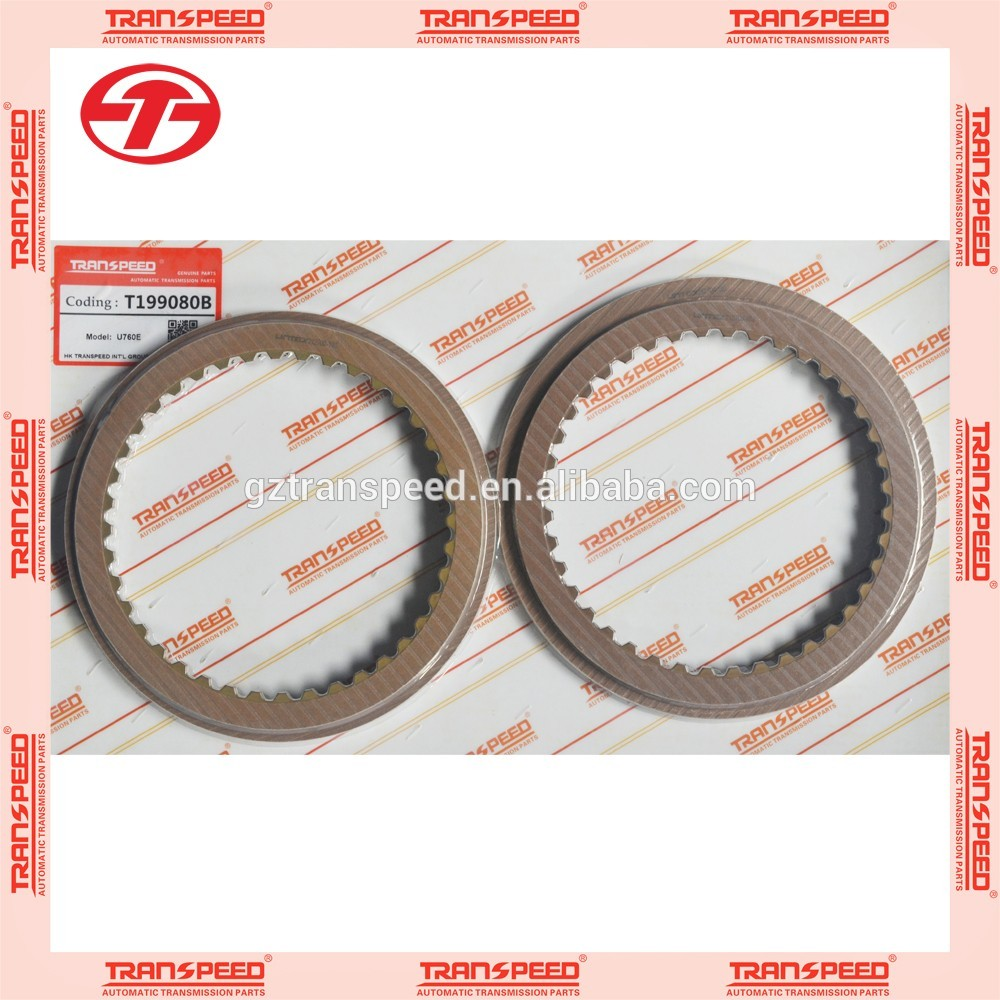 In stock U760E transmission parts Transpeed friction kit clutch plate Featured Image