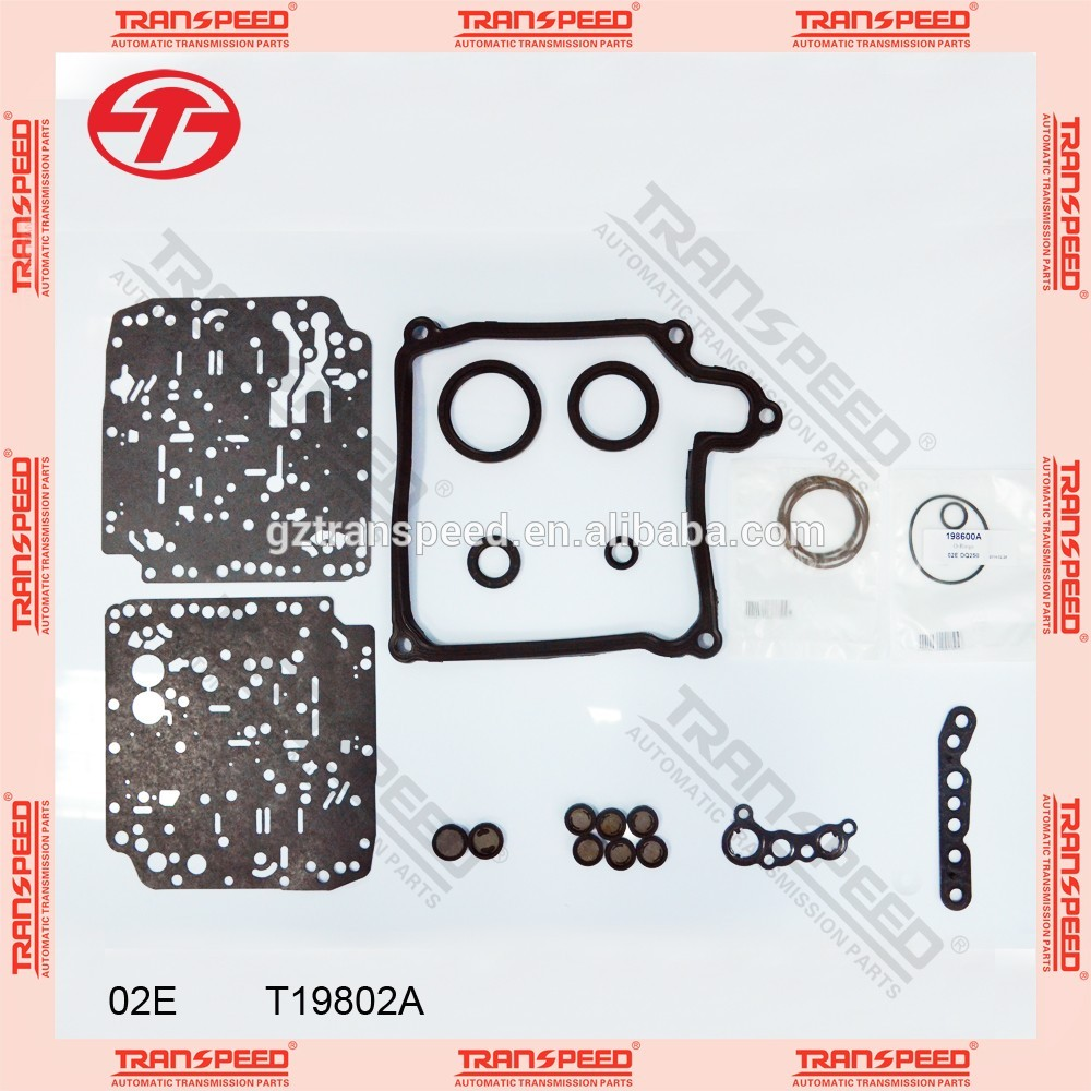 Transpeed DQ250 02E automatic transmission gearbox seal kit for vw