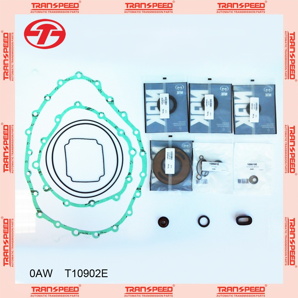 0AW Automatic transmission overhaul kit repair kit gasket kit T10902E TRANSPEED for VW