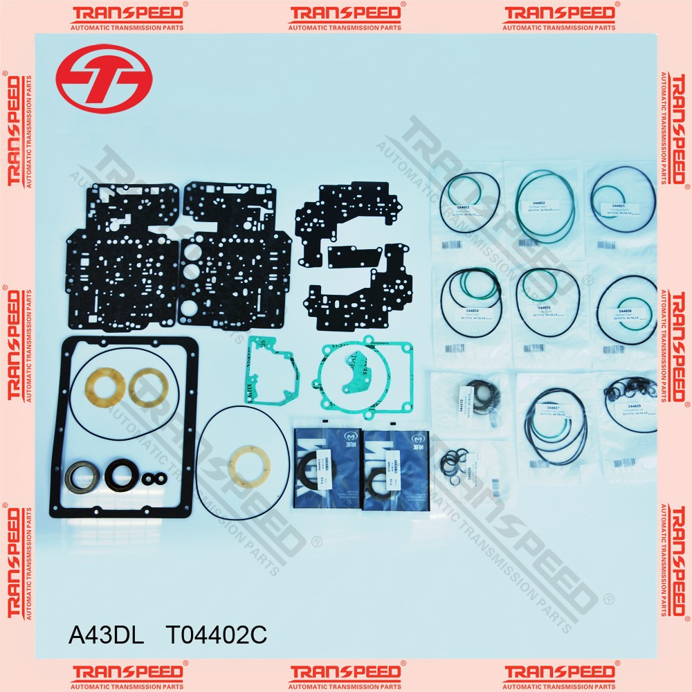 03-72LE KM148 A44DE /A43DL Automatic transmission overhaul kit gasket kit T04402C