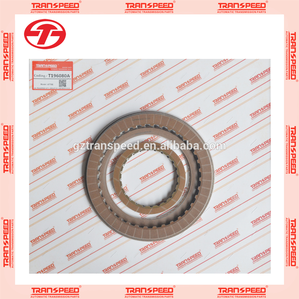 Transpeed 6T75E 6T70E automatic transmission friction kit clutch plate kit for BUICK auto parts Featured Image