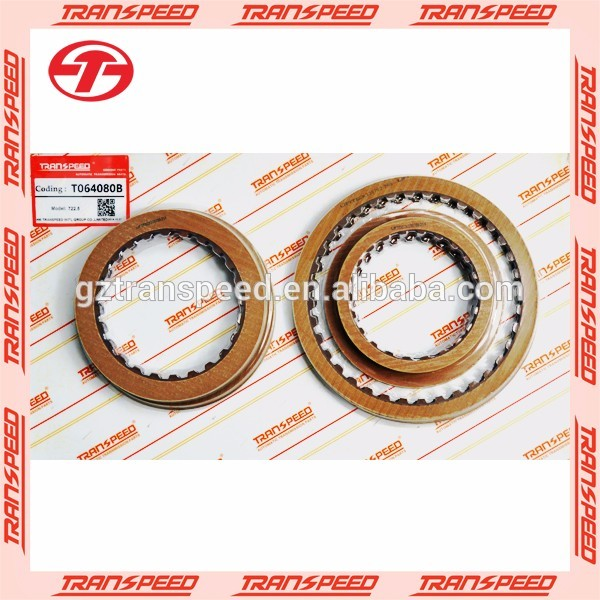 Transpeed transmission parts friction clutch plate kit for 722.5 gearbox