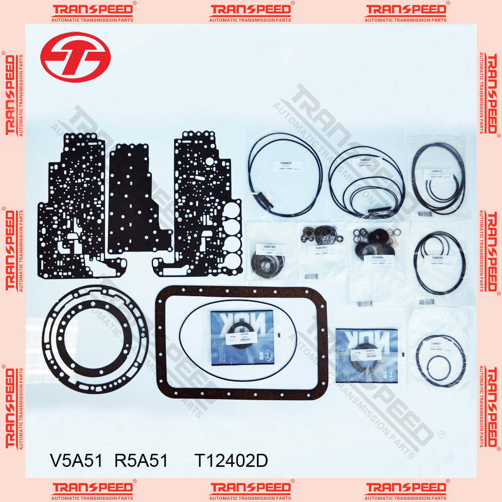 TRANSPEED V5A51 R5A51 T12402D Automatic transmission overhaul kit gasket kit