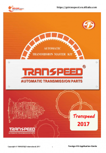 TRANSPEED Bar Model &gear Box Code