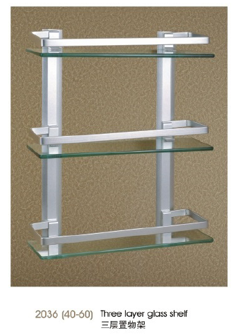2036(40-60) Three layer glass shelf