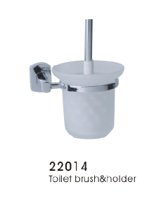 22014 Toilet brush & holder