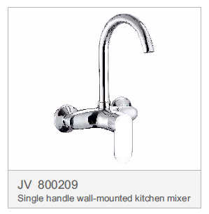 JV 800209 Single handle wall-mounted kitchen mixer
