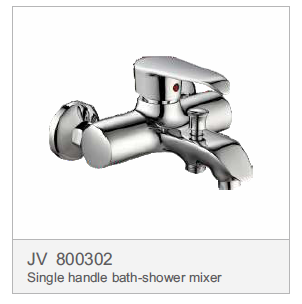 JV 800302 Single handle bath-shower mixer