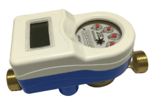 LXSGY Dry intelligent valve-controlled water meter (single flow)