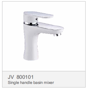 JV 800101 Single handle basin mixer