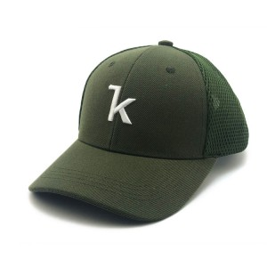 Free Sample Custom Logo Embroidery Patch Gorra Trucker , Wholesale Blank Mesh Trucker Hats
