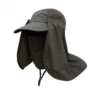 Unisex Sun Protection Outdoor Hunting Camping Neck Cover Hat