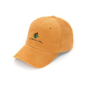 High Quality Custom Embroidered Corduroy Baseball Cap