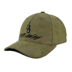 Wholesale Custom Fashion Unisex Suede Baseball CapHat