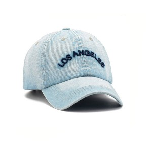 Hot Sale Promotional Denim Washed Baseball Caps